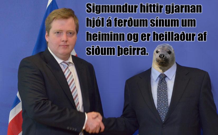 Afsagnarkrafa til Sigmundar Davíðs