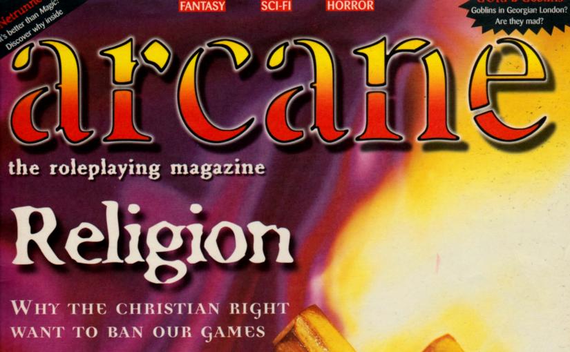 Arcane – hlutverkaleikjatímaritið