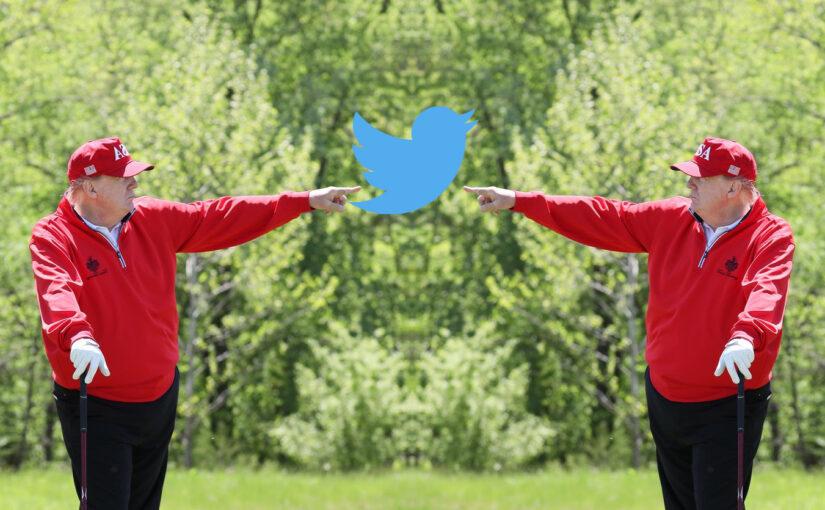 Twitter, Trump og tjáningarfrelsi